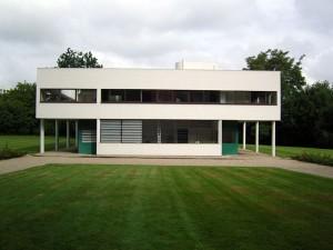 Villa Saboya de Le Corbusier