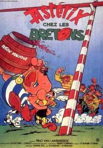 Axterix y Obelix armando de las suyas en Bretaña. Un clásiclo.