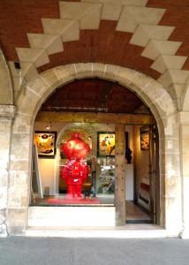 Galeria Bluman en pleno corazón de París (Place des Vosges)
