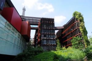 El museo parisino mas reciente. Museo de artes no europeas de Quai de Branly.
