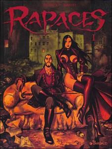 Rapaces, la serie más representativa del italiano Marini. Publicada en Francia