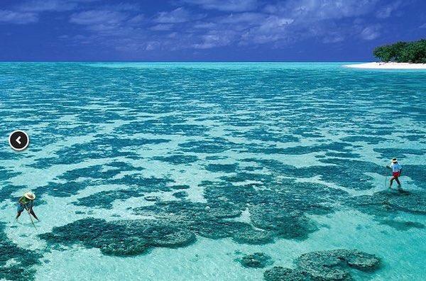 Los atolones coralinos de Nueva Caledonia en Oceanía han sido uno de los últimos lugares incluidos en la lista de la UNESCO. Lejanos pero inmensamente bellos.