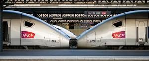 La estación del Este es la que sirve para viajar a Alsacia, Lorena, Luxemburgo y Alemania.