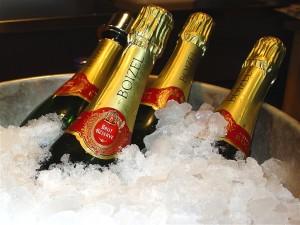 El champagne, a diferencia de lo que se piensa, debe tomarse como aperitivo o como bebiba principal durante la comida y no al final. Pruébelo en verano, helado, disfrute de sus pequeñas burnujas y del frescor seco, no se arrepentirá.