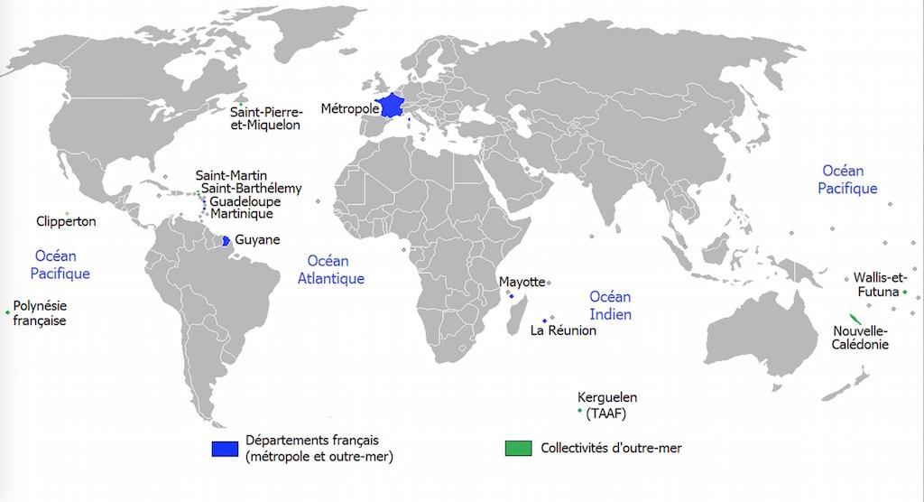 Francia se extiende, y extiende Europa por los cuatro continentes.