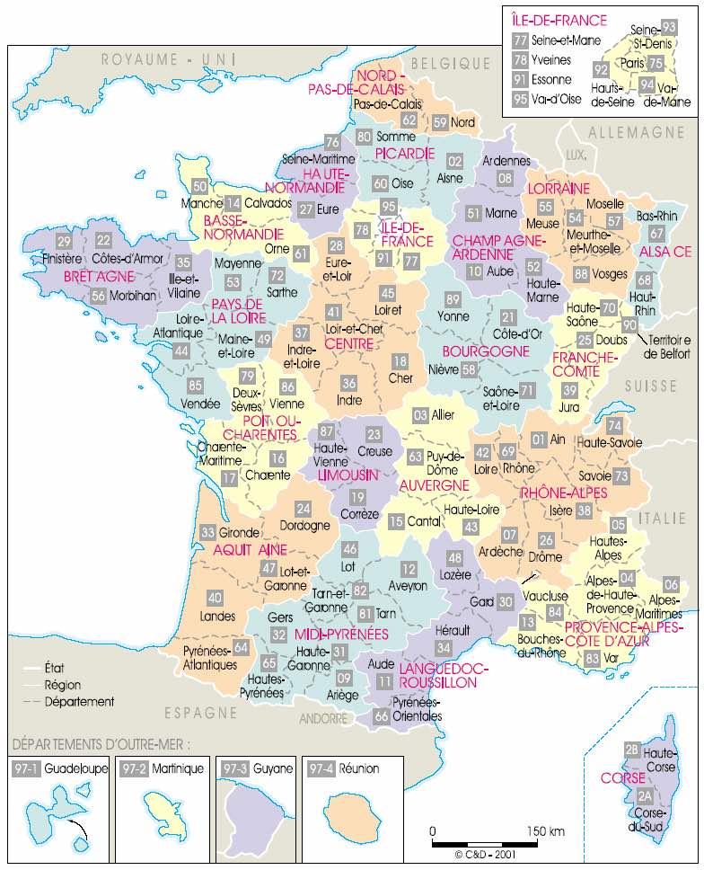 Mapas, planos y callejeros de Francia   Guía Blog Francia