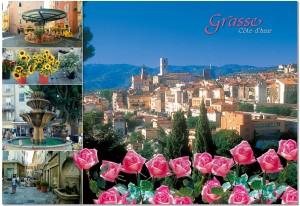 La coqueta ciudad de Grasse encaramada en el pie de monte de los Alpes a un paso de Cannes.