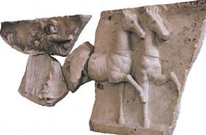 Esculturas romanas. Museo de Arte e Historia de Orange