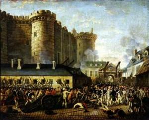 La Toma de la Bastilla el 14 de julio de 1789