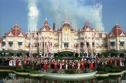 Hotel Disneyland Resort, en pleno corazón del parque de atracciones Disney