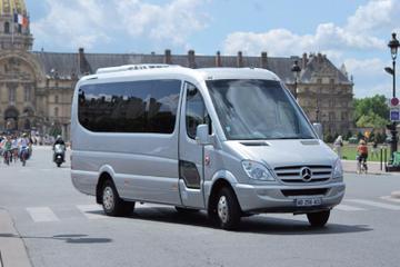 Rutas guiadas en minibus por París: Diurnas