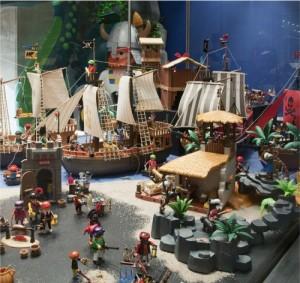 El caribe de la época de la piratería versión Playmobil
