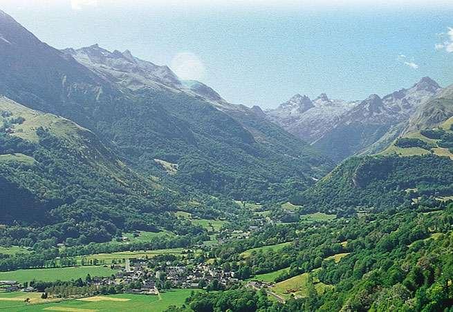 El valle de Azun, paraíso para los esquiadores de fondo. Cerca de Lourdes, al tiempo que suficientemente lejos.