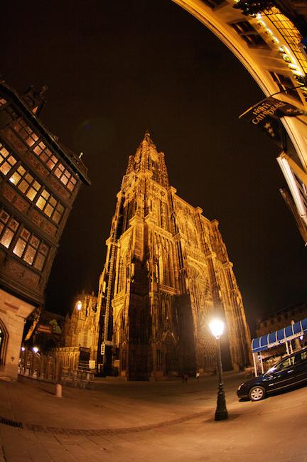 Catedral Notre Dame de Estrasburgo, la misma que impresionaba a Göethe.