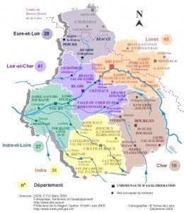 La Región Centro, el Loira, los palación, Orleans, Chartres, Futuroscope, tanto que ver...