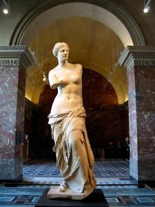 La belleza de la Venus de Milo