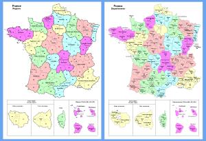 Mapa Politico De Francia 2019.Todo Francia Regiones De Francia Guia Blog Francia