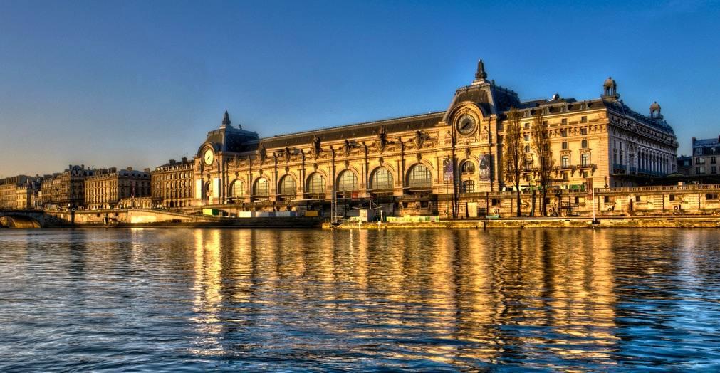 El magnífico Palacio de Orsay en el lugar donde hoy se sitúa el museo.