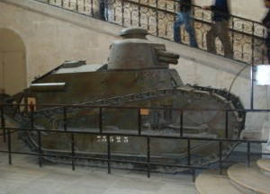 Tanque Renaul FT 17, los origenes de las fuerzas acorazadas. El tanque un invento francés.