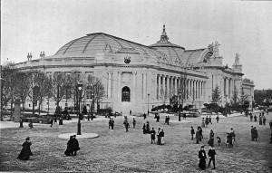 El Grand Palais recien inaugurado, el siglo XIX está a punto de comenzar.