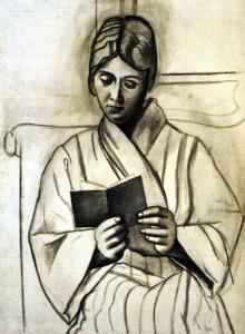 """Olga Lisant"", de Picasso."