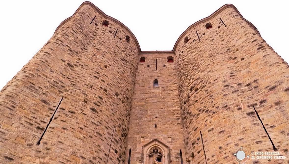 Carcassonne y su ciudadela restaurada por Viollet-le-Duc. ©Iñigo Pedrueza.