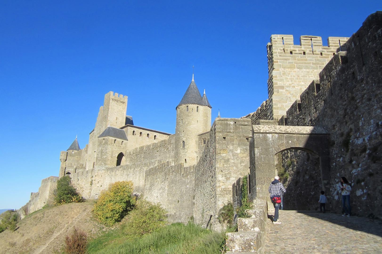 La cité medieval de Carcassonne, Patrimonio Mundial de la Humanidad. ©M. Calvo
