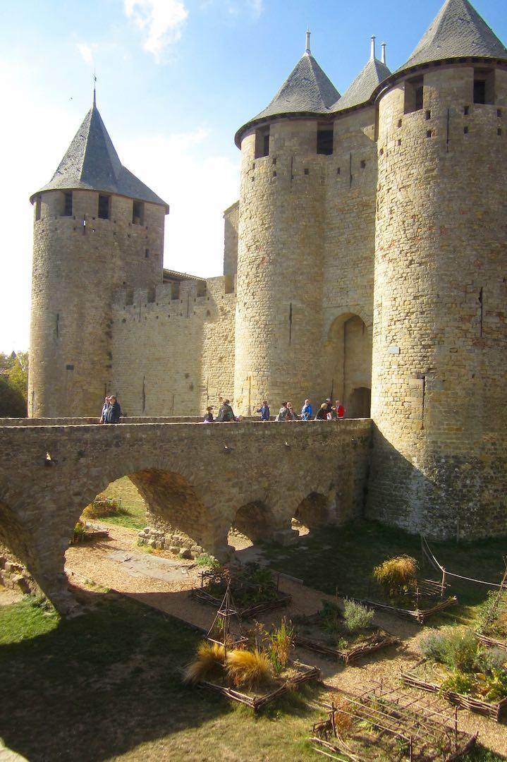Imponentes las torres de la ciudad medieval de Carcassonne. ©M. Calvo.