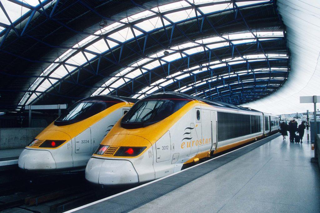 EUROSTAR, el tren que reune Europa. París y Londes unidos por dos horas y un túnel.