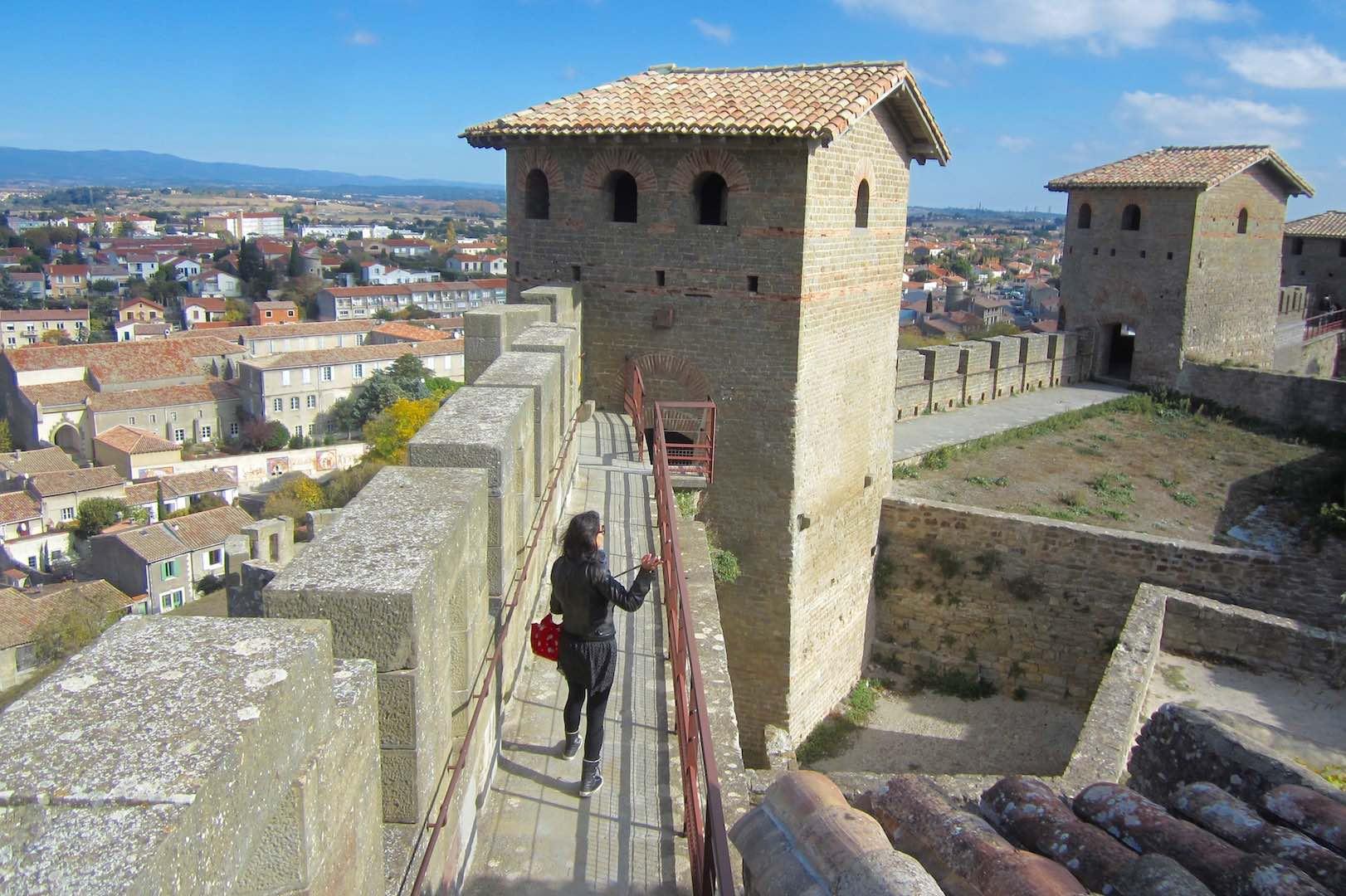 Paseando por las murallas. ©M. Calvo.