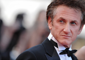 Sean Penn, presidente del jurado del Festival de Cannes en 2008.