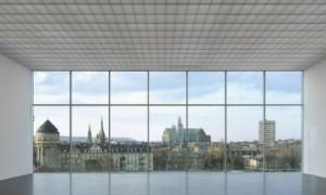 Impresionante vista de Metz desde la inmensa nave del Centro Pompidou