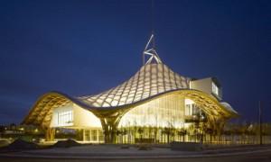 La belleza de la arquitectura contemporánea del Centro Pompidou-Metz