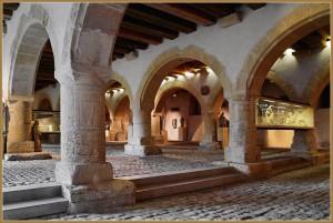 El Grenier Chevrement de Metz, museo con importants colecciones de arte medieval. Pertenece a los Museos de la Cour d'or.