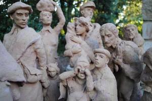 Una muestra de las composiciones que crea el escultor Serge Castillo.
