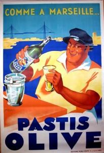 El Pastis es una bebida tradicional de Marsella, excelente para el verano.