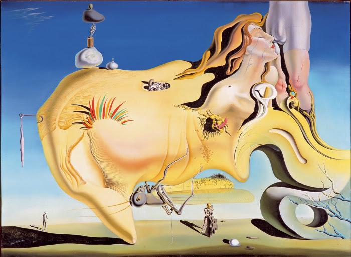 Exposición de Dalí en el Centro Pompidou de París