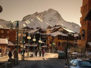 Estación de esquí de 2 alpes. Foto de Belay Bill.