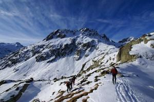 Ya sea en los Pirineos o en los Alpes, el esquí, el senderismo y montañismo en Francia es un verdadero placer. Foto de Lelou.