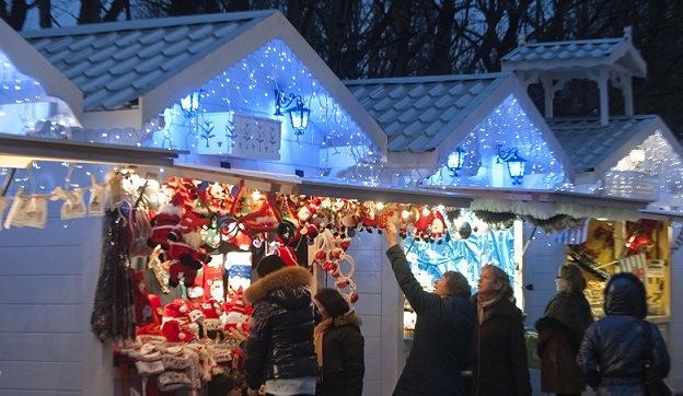 Los mercados de Navidad en París es una ocasión para conocer la capital desde otro punto de vista.