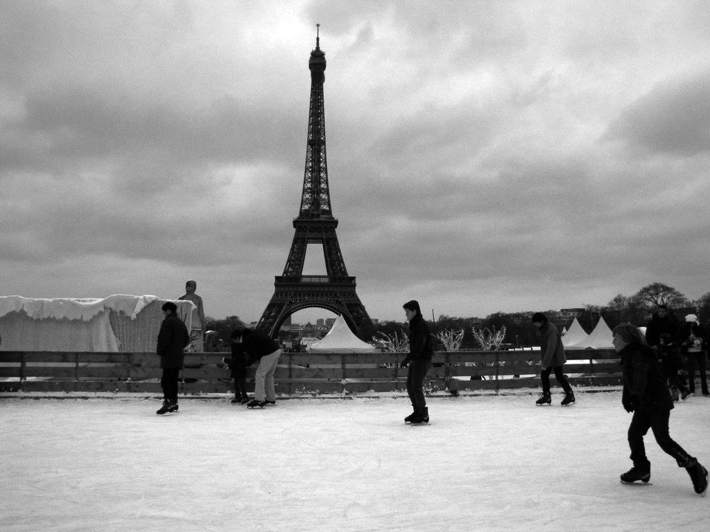 Unas mágicas Navidades en París